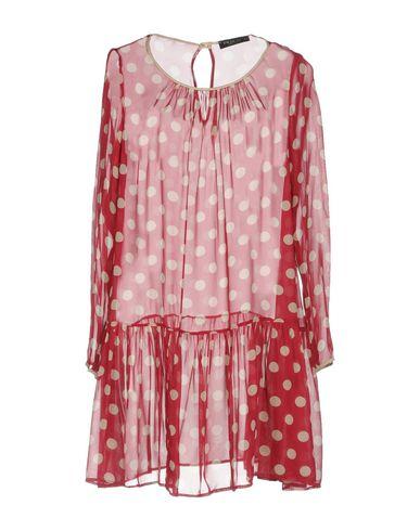 Фото - Женское короткое платье TWINSET цвет пурпурный