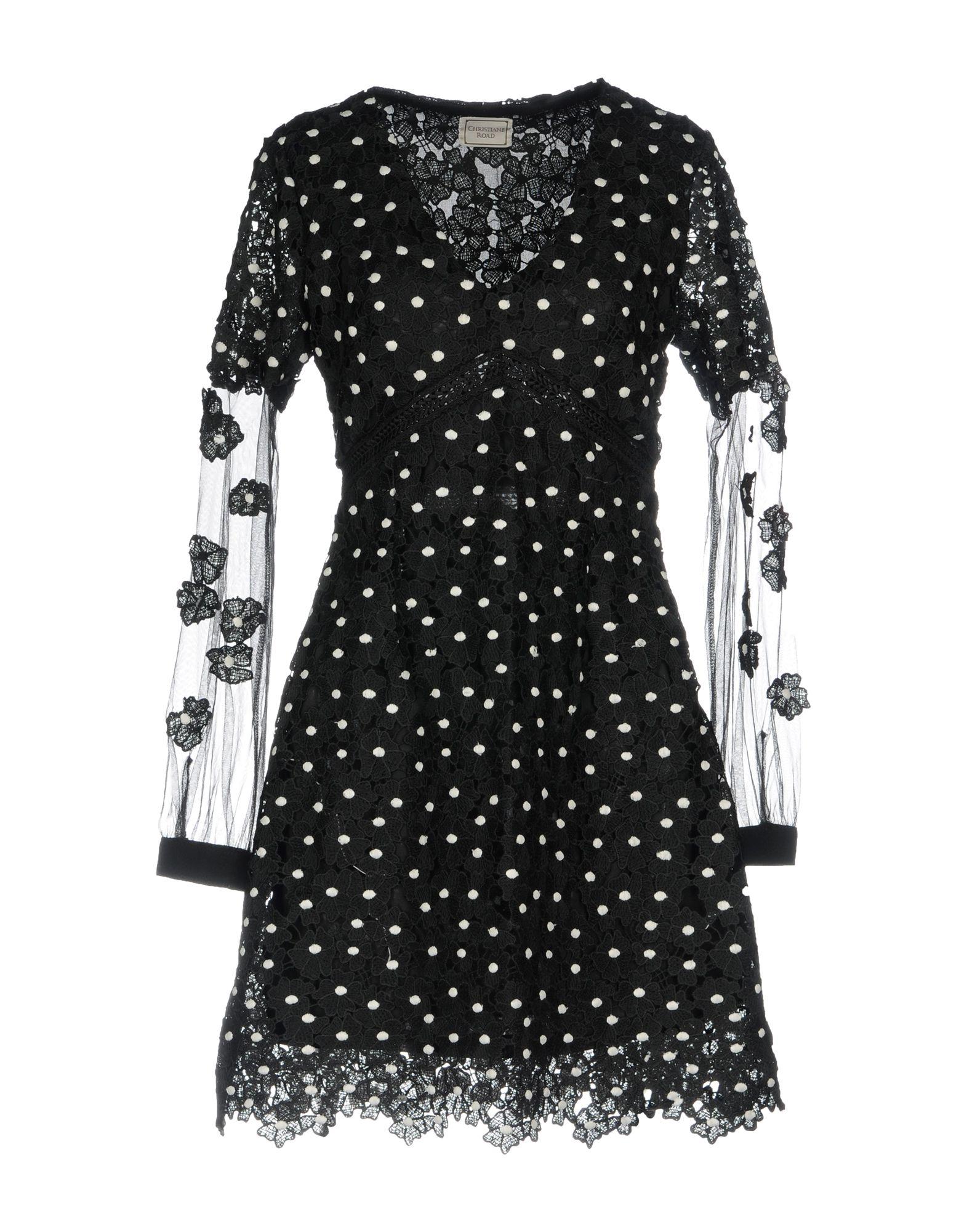 цена CHRISTIANE ROAD Короткое платье онлайн в 2017 году
