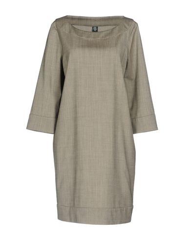 Фото - Женское короткое платье ELEVENTY серого цвета