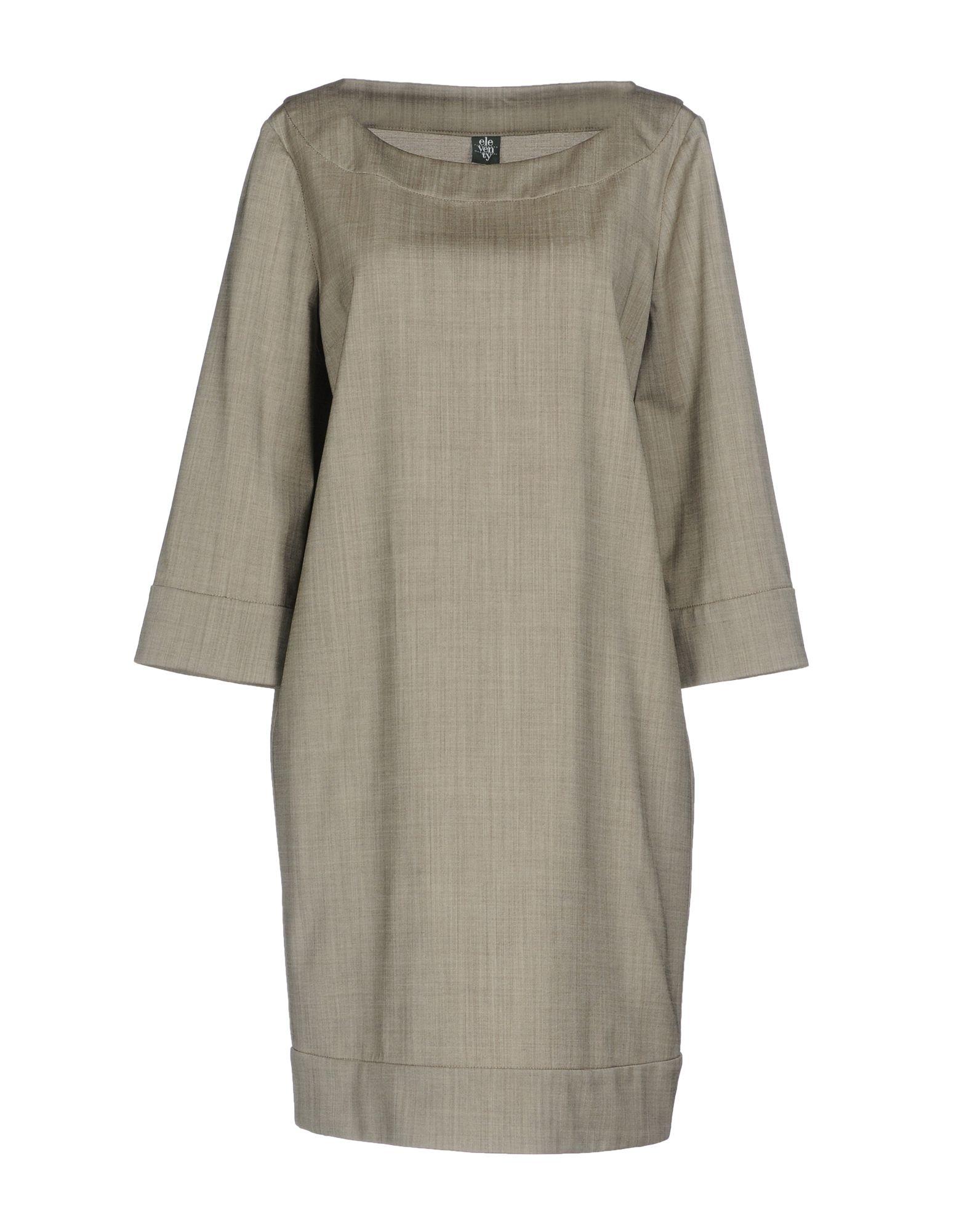 ELEVENTY Короткое платье lisa corti короткое платье