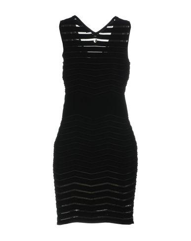 Фото 2 - Женское короткое платье TWINSET черного цвета