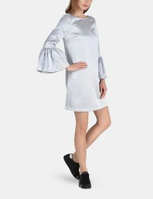 ARMANI EXCHANGE METALLIC BELL-SLEEVE DRESS Mini dress D a