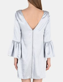 ARMANI EXCHANGE METALLIC BELL-SLEEVE DRESS Mini dress Woman r