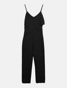 ARMANI EXCHANGE ASYMMETRICAL OVERLAY JUMPSUIT Jumpsuits Woman b