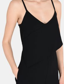 ARMANI EXCHANGE ASYMMETRICAL OVERLAY JUMPSUIT Jumpsuits Woman e