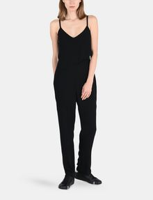 ARMANI EXCHANGE ASYMMETRICAL OVERLAY JUMPSUIT Jumpsuits Woman f