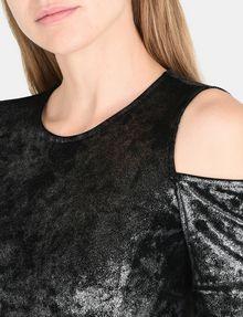 ARMANI EXCHANGE VELVET COLD-SHOULDER DRESS Mini dress Woman e