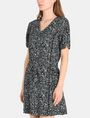 ARMANI EXCHANGE GEO PRINT V-NECK SWING DRESS Mini dress Woman d