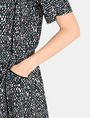 ARMANI EXCHANGE GEO PRINT V-NECK SWING DRESS Mini dress Woman e