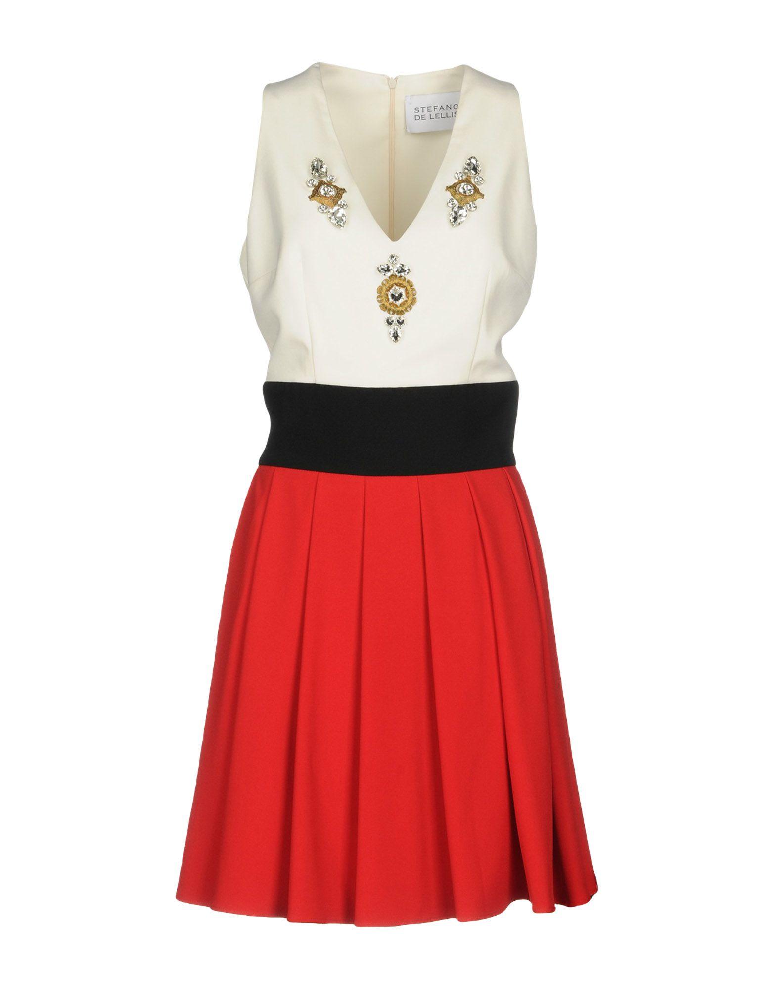 STEFANO DE LELLIS Короткое платье