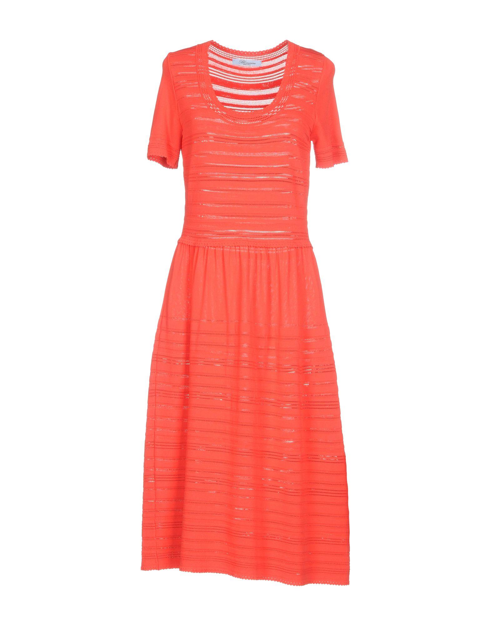 BLUMARINE Платье длиной 3/4 lisa corti платье длиной 3 4