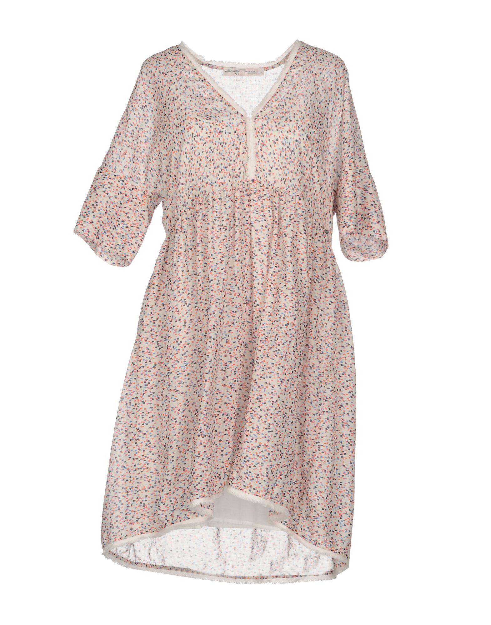 OTTOD´AME Damen Kurzes Kleid Farbe Hellrosa Größe 5