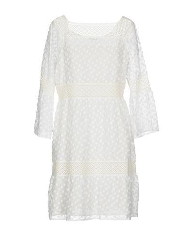 Фото 2 - Женское короткое платье ANNA RACHELE RESORT белого цвета