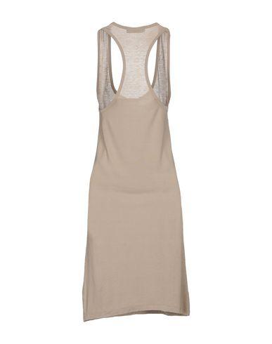 Фото 2 - Платье до колена от TWINSET серого цвета