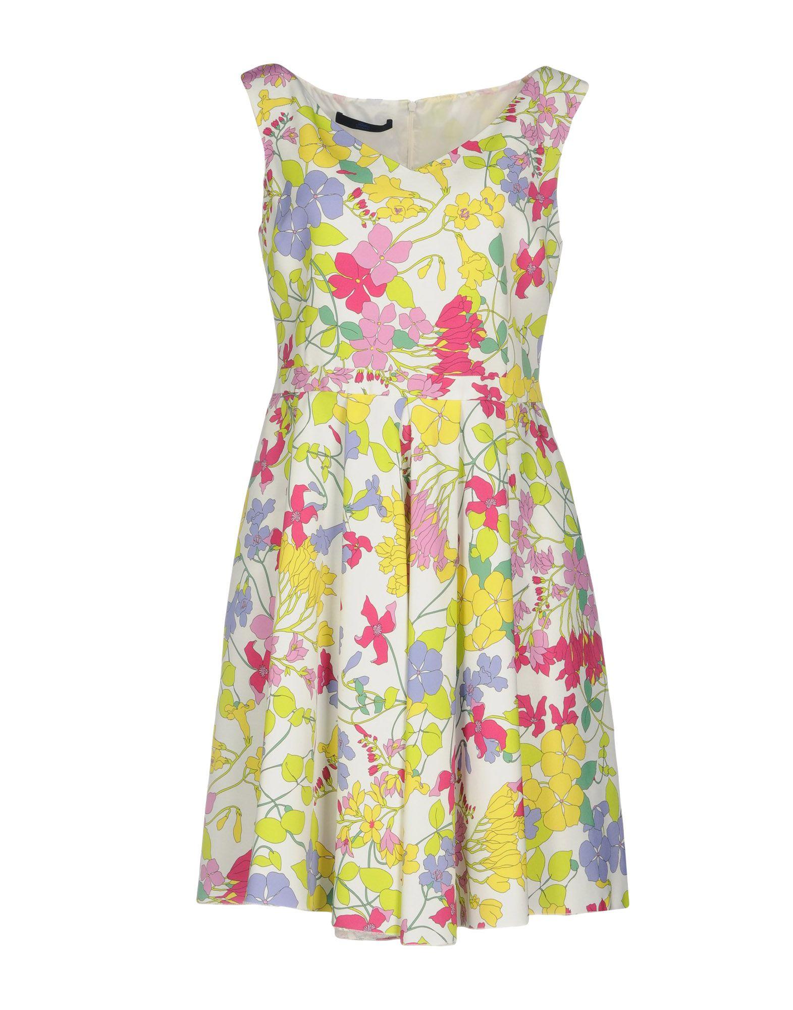 Фото BLUE LES COPAINS Короткое платье. Купить с доставкой