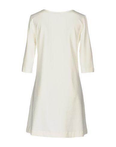 Фото 2 - Женское короткое платье CIRCOLO 1901 цвет слоновая кость