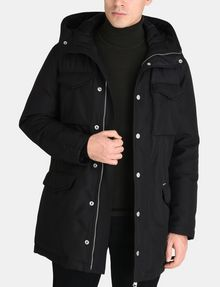 ARMANI EXCHANGE PIECED FUNNELNECK COAT Jacke Herren f