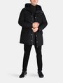 ARMANI EXCHANGE PIECED FUNNELNECK COAT Jacke Herren a