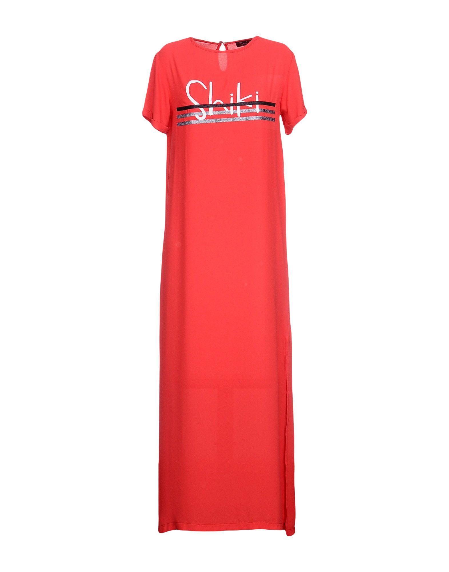 цена SHIKI Длинное платье онлайн в 2017 году