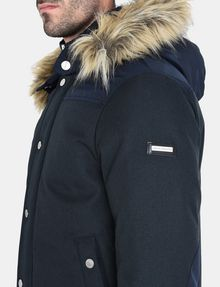 ARMANI EXCHANGE SHORT TWILL PARKA WITH REMOVABLE HOOD Jacket Man e