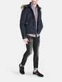 ARMANI EXCHANGE SHORT TWILL PARKA WITH REMOVABLE HOOD Jacket Man a