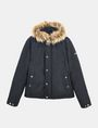 ARMANI EXCHANGE SHORT TWILL PARKA WITH REMOVABLE HOOD Jacket Man b
