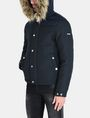 ARMANI EXCHANGE SHORT TWILL PARKA WITH REMOVABLE HOOD Jacket Man d