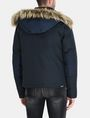 ARMANI EXCHANGE SHORT TWILL PARKA WITH REMOVABLE HOOD Jacket Man r
