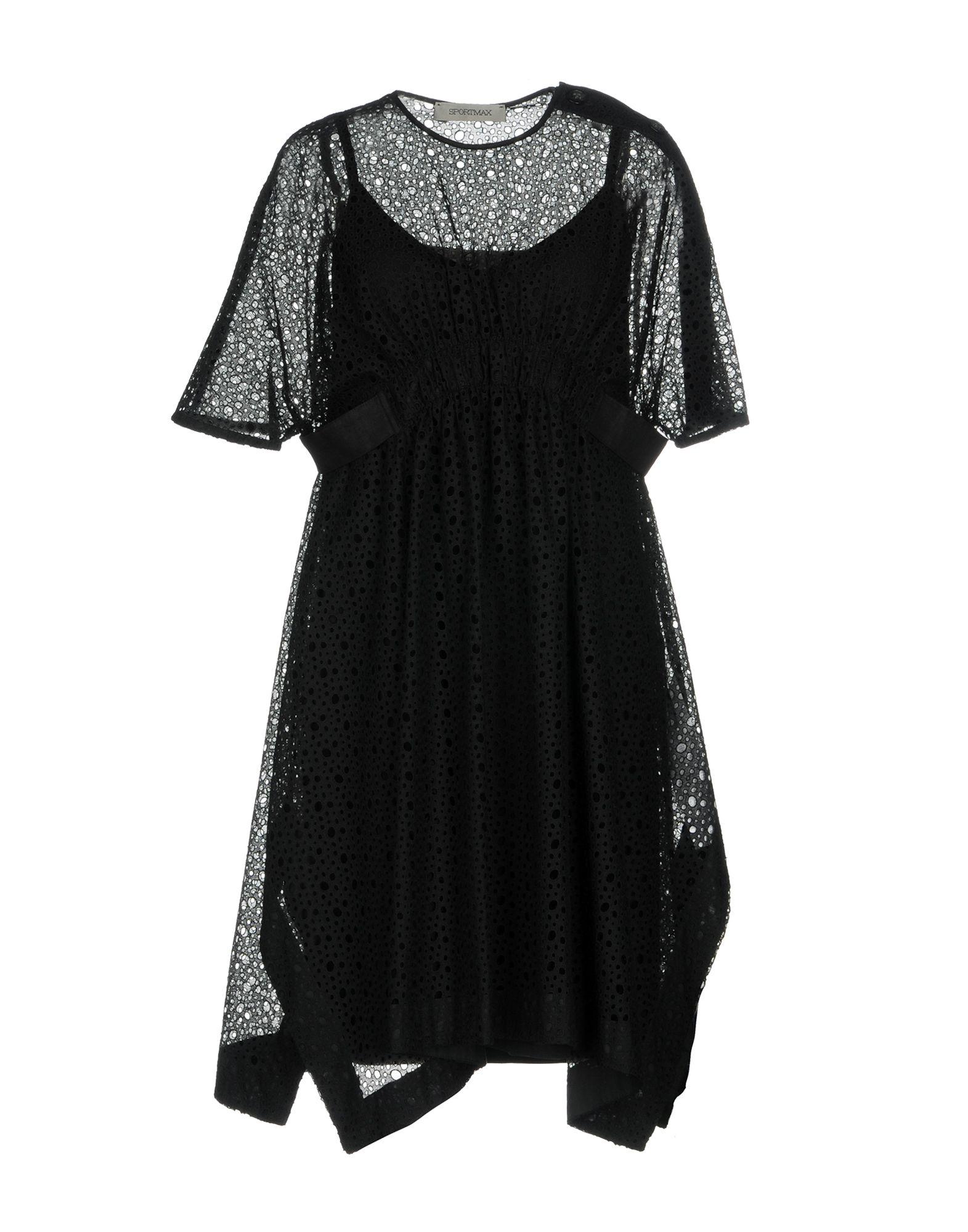 SPORTMAX Короткое платье anais gillian комбинация