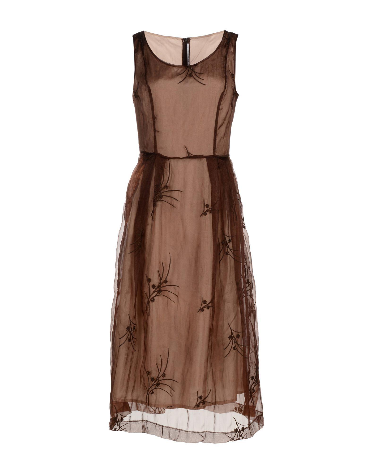 LAVINIATURRA Платье длиной 3/4 lisa corti платье длиной 3 4