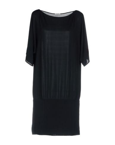 Купить Платье до колена от P.A.R.O.S.H. темно-синего цвета