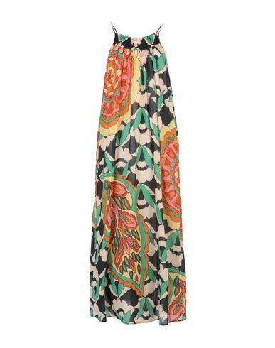 Длинное платье SUOLI. Цвет: зеленый