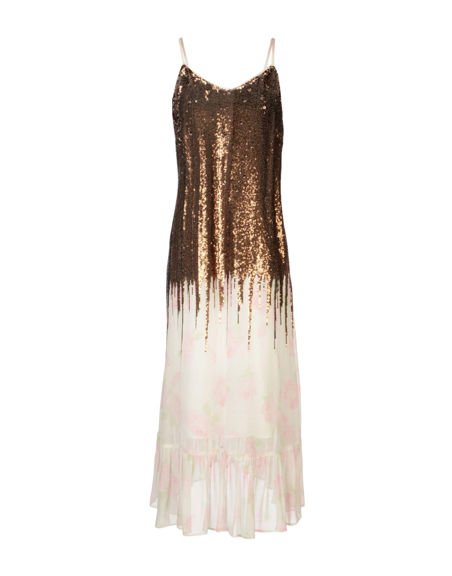 MANOUSH Платье длиной 3/4 lisa corti платье длиной 3 4