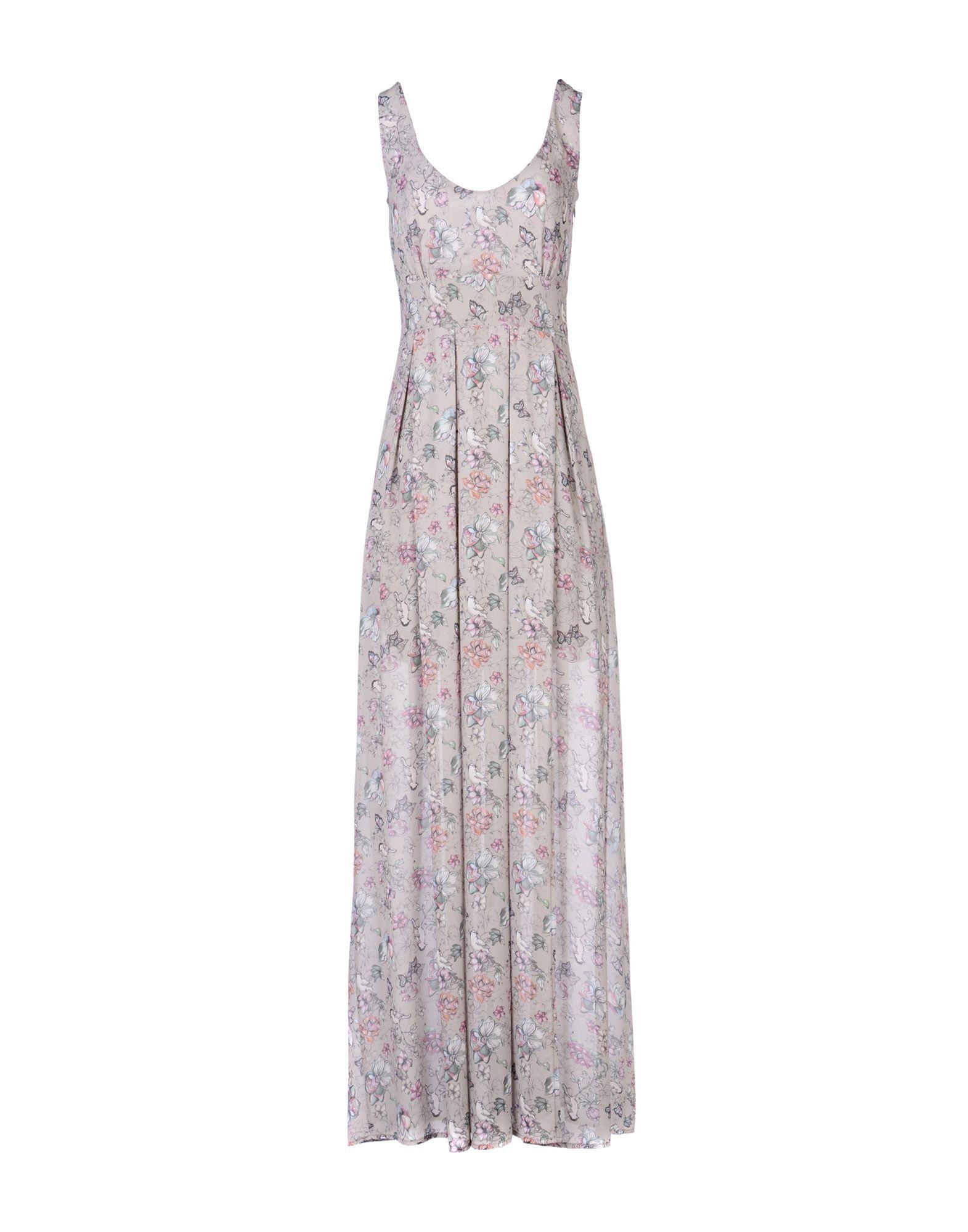купить MAISON ESPIN Длинное платье по цене 9500 рублей