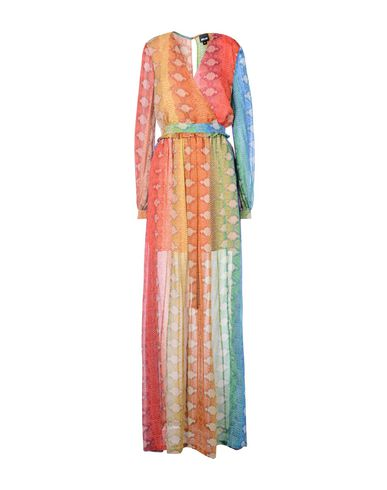 Фото - Женское длинное платье  желтого цвета