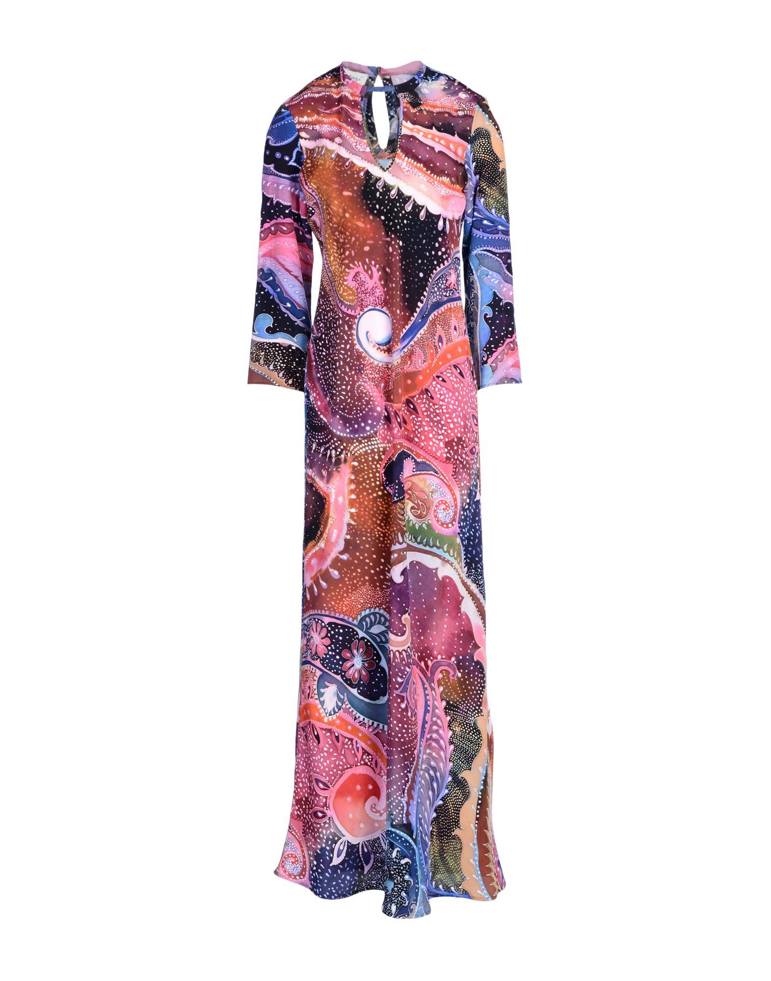 KITAGI® Длинное платье платье длинное с рисунком пейсли