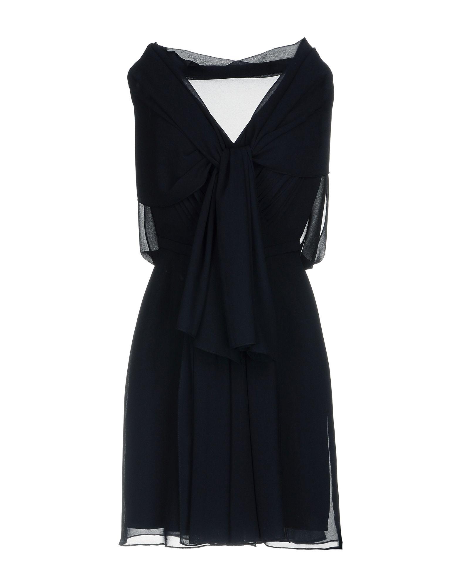 《送料無料》CORIZZI レディース ミニワンピース&ドレス ブラック 6 ポリエステル 100%