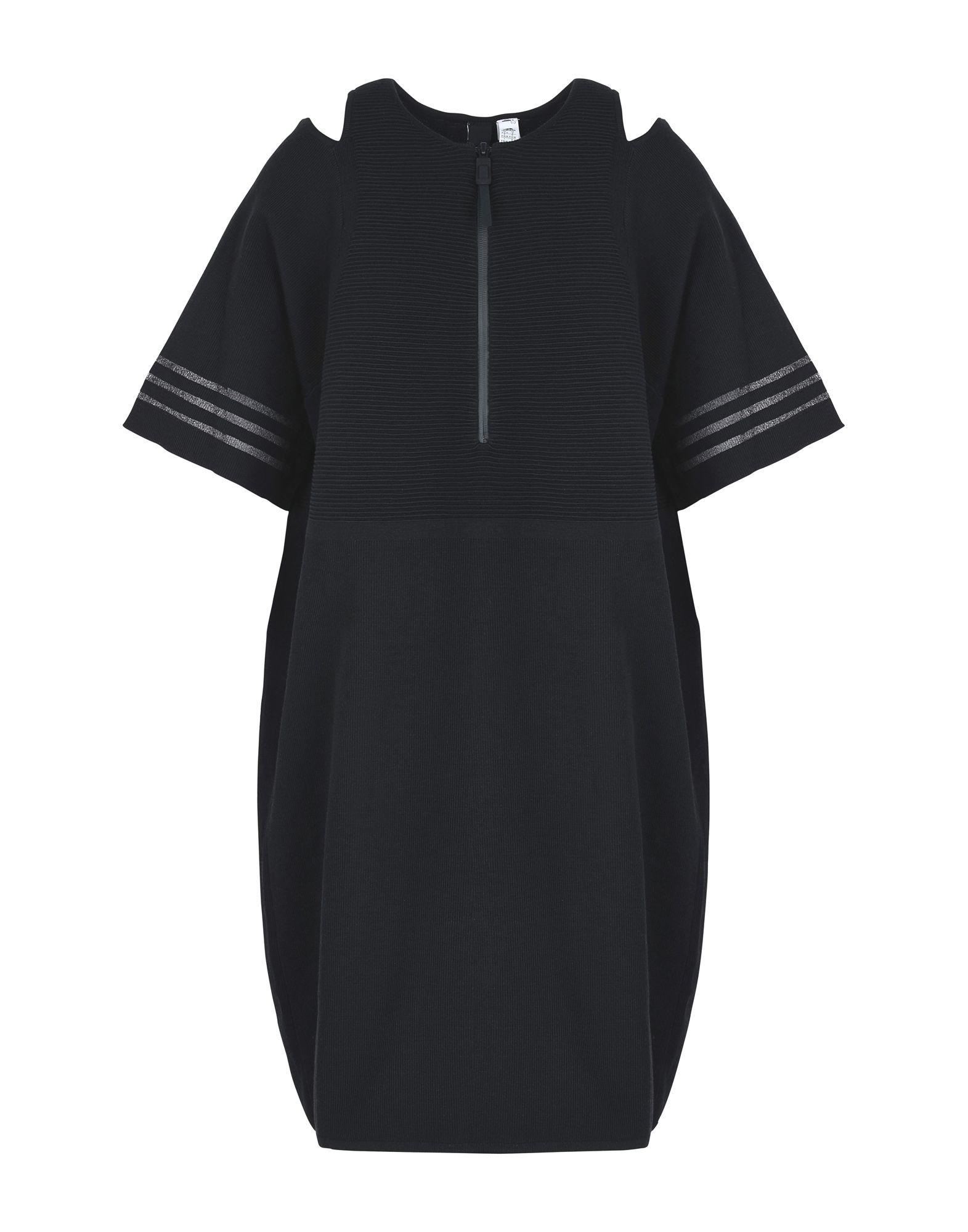 ADIDAS Damen Kurzes Kleid Farbe Schwarz Größe 6