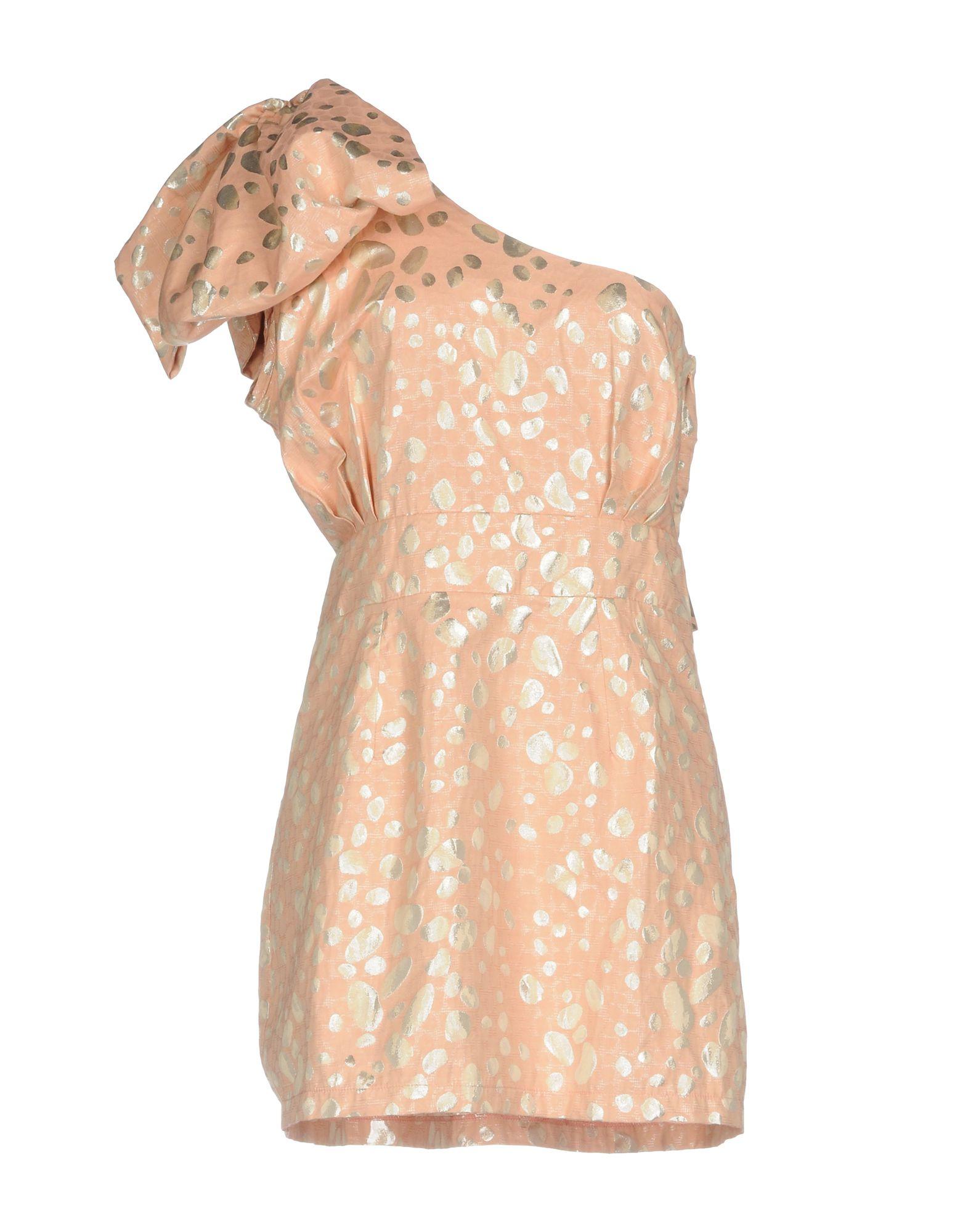 LIQUORISH Короткое платье liquorish комбинезоны брючные
