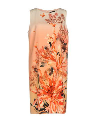 Купить Женское короткое платье  лососево-розового цвета