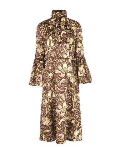 Фото - Платье длиной 3/4 от GEORGE J. LOVE коричневого цвета