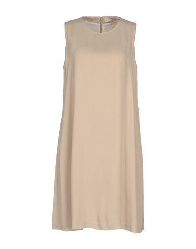 Купить Женское короткое платье FABIANA FILIPPI бежевого цвета