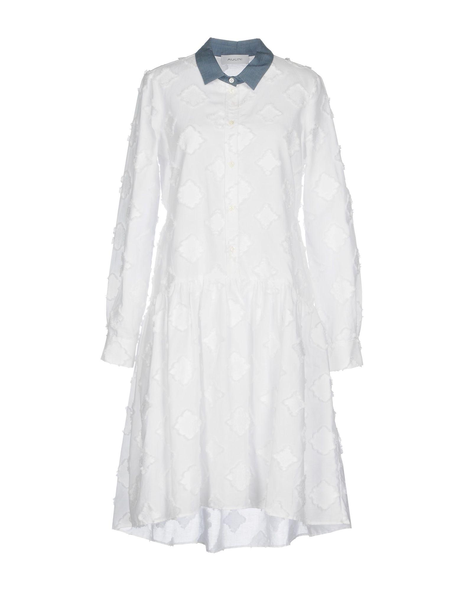 лучшая цена AGLINI Платье до колена