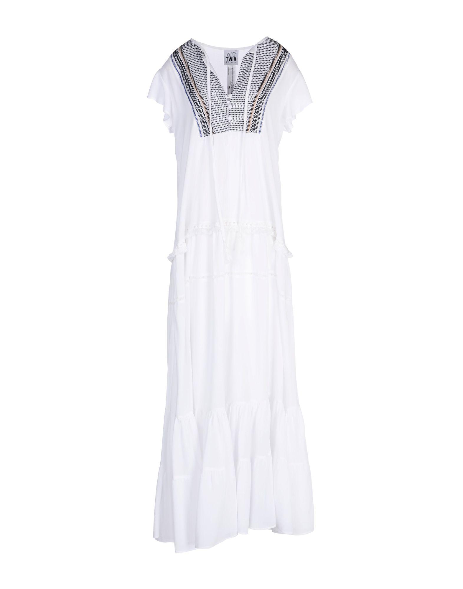 MY TWIN TWINSET Длинное платье