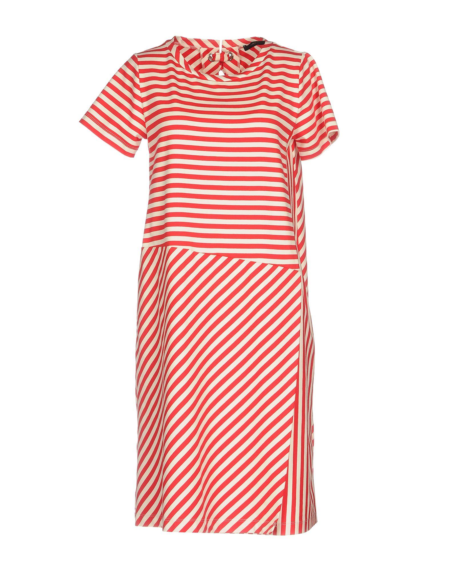 WEEKEND MAX MARA Damen Kurzes Kleid Farbe Rot Größe 5