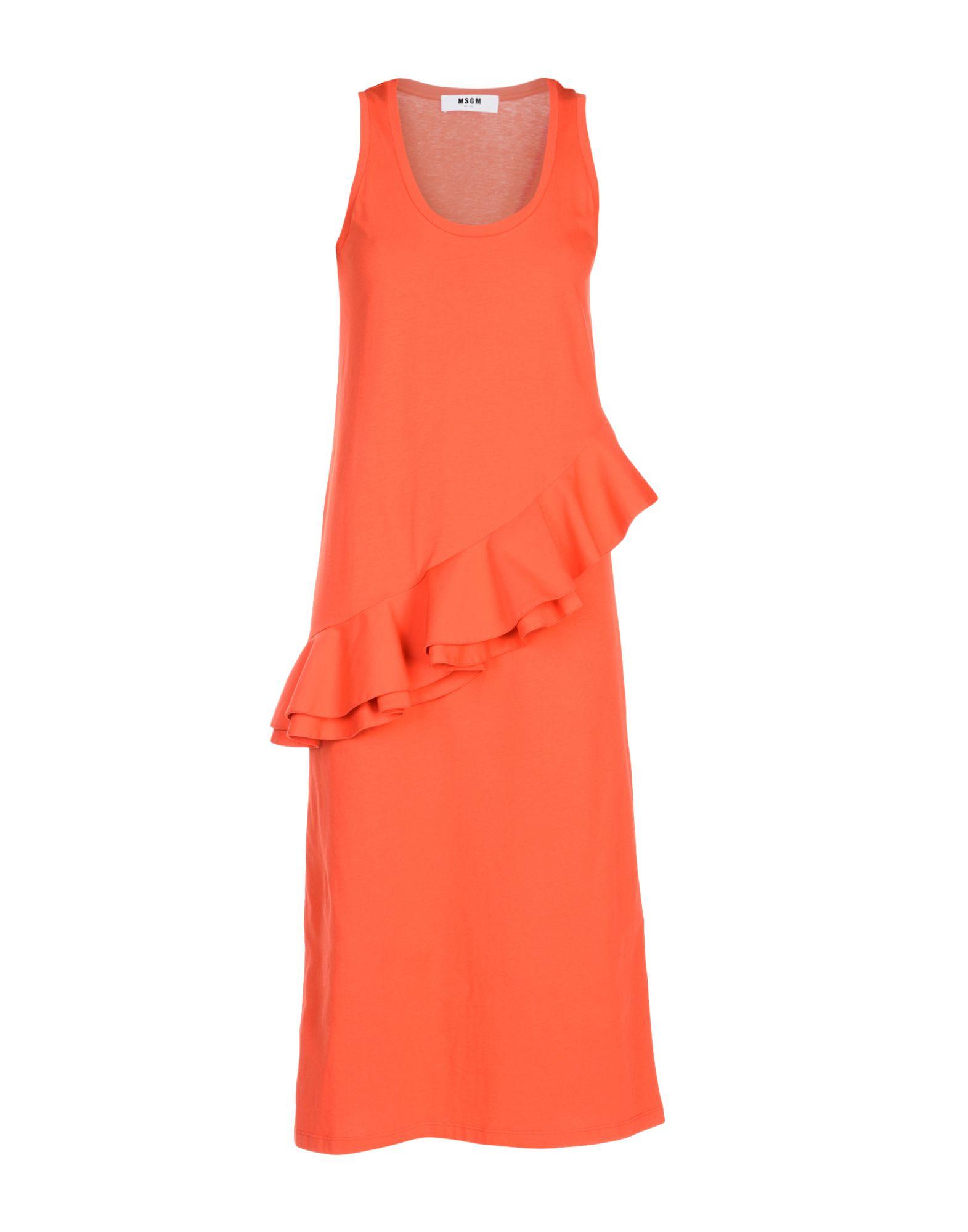 MSGM Платье длиной 3/4 платье