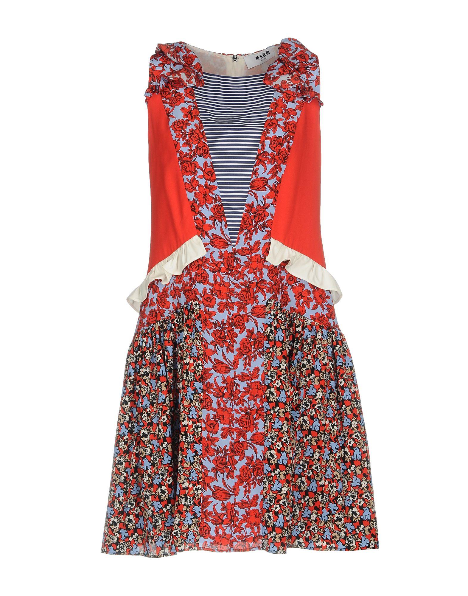MSGM Короткое платье msgm одежда