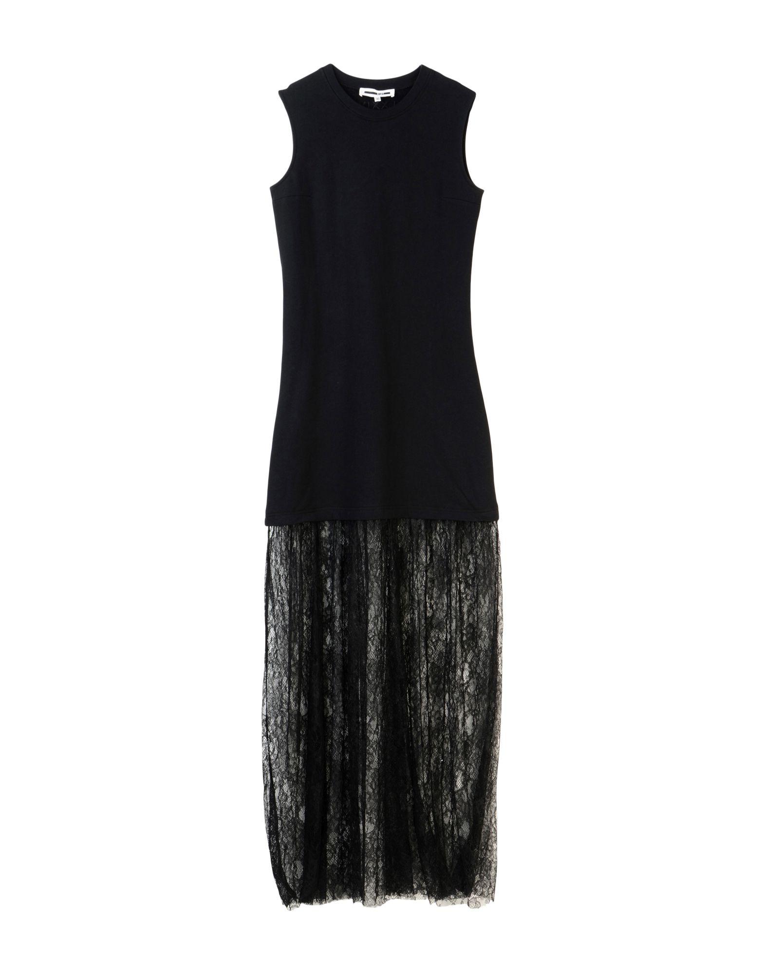 McQ Alexander McQueen Длинное платье платье mcq черный