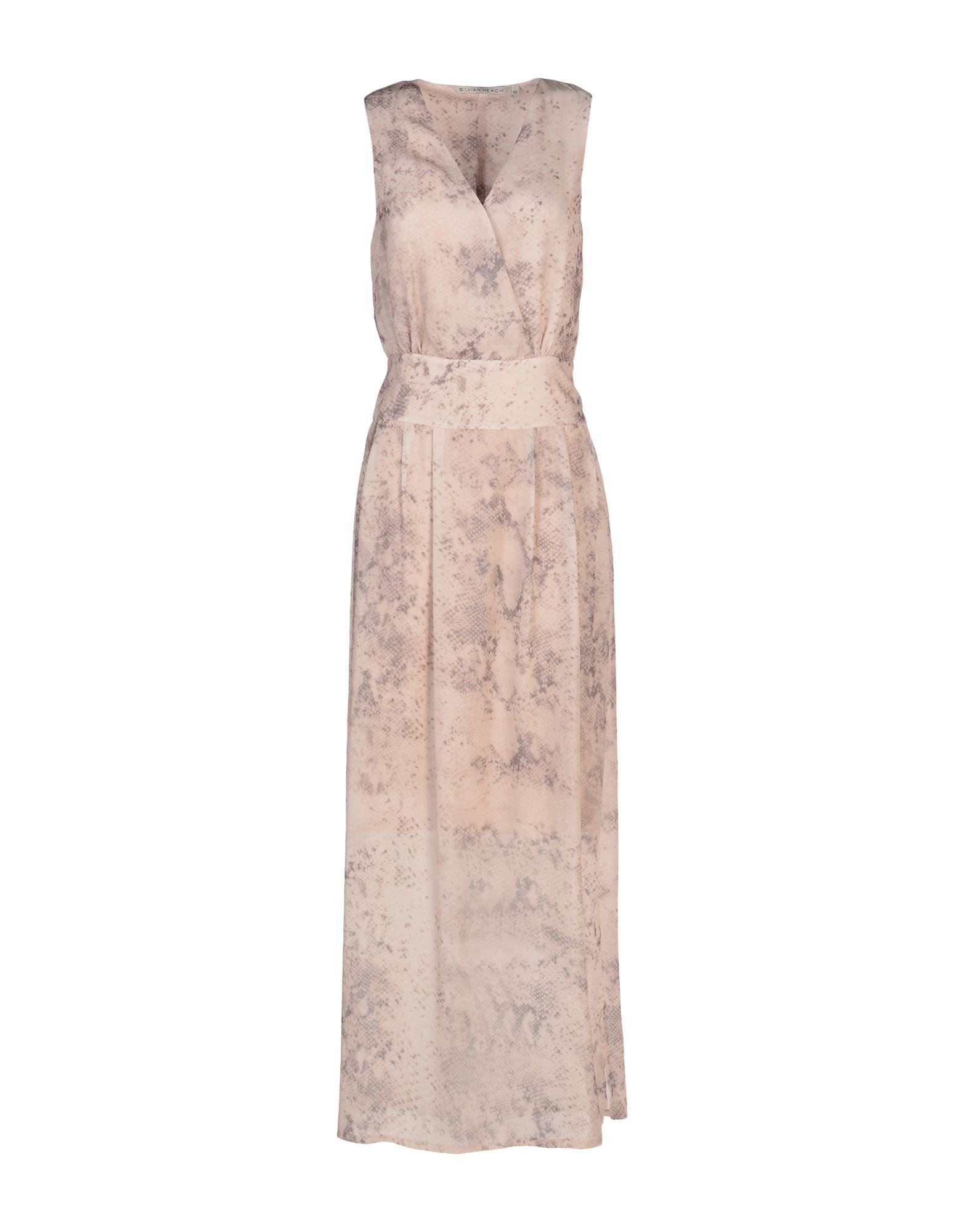 Фото SILVIAN HEACH Длинное платье. Купить с доставкой