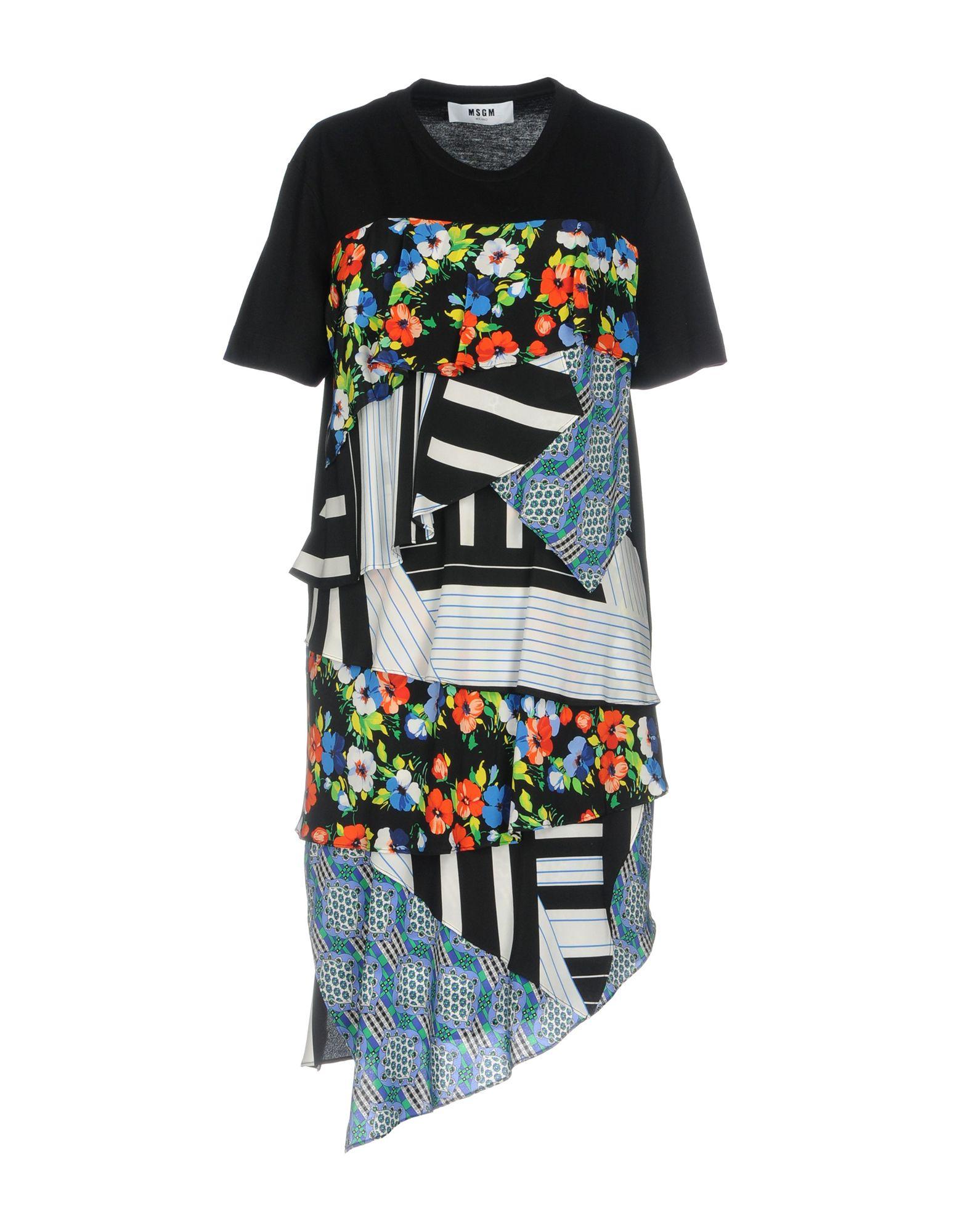 MSGM Короткое платье платье